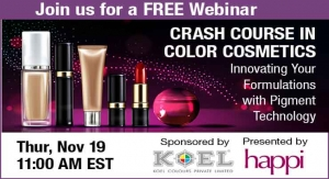 Crash Course in Color Cosmetics