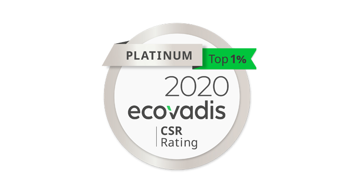 Verescence Earns Platinum Medal from EcoVadis
