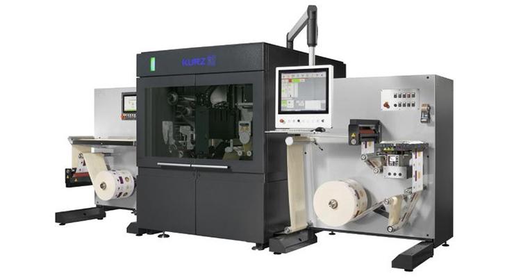 Leonhard Kurz Extends Machine Range with Standalone Metallization Unit