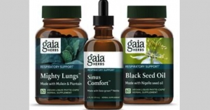 Gaia Herbs Launches Line of Plant-Based Respiratory Wellness Supplements