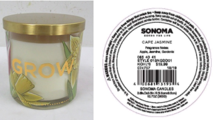 CPSC Recalls Kohl's Candles, Crafty Bubbles Wintergreen Oil