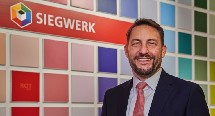 Nicolas Wiedmann appointed next CEO of Siegwerk