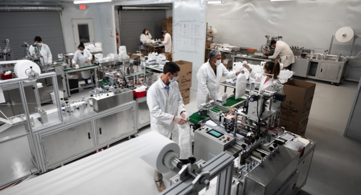 United Sewing Automation Produces U.S.-Sourced and Manufactured PPE Face Masks