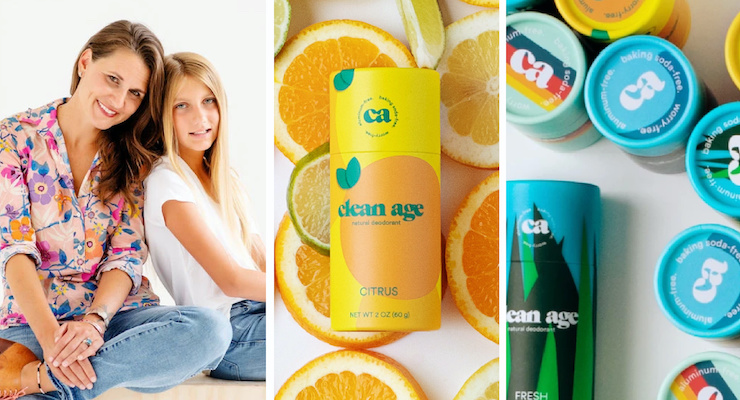 Mom & Daughter Launch Clean Age Deodorant for Teens