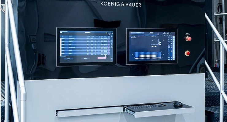 Koenig & Bauer: Digital Printing for Flexible, Extensible Film