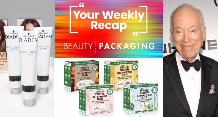 Weekly Recap: Lauder Memoir, Henkel Aluminum Tubes & More