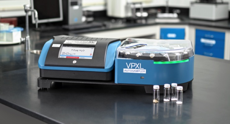 AMETEK Brookfield Launches Vapor Pro XL Autosampler