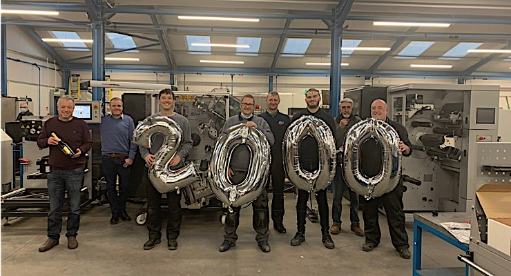 ABG installs 2,000th Vectra rewinder