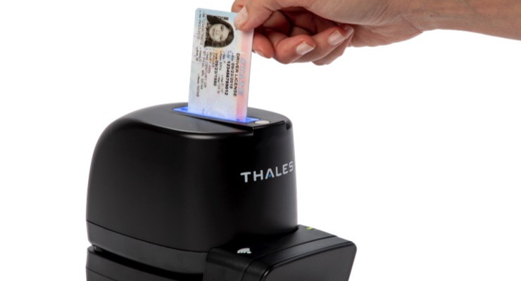 Thales Introduces Double-Sided ID Card Reader