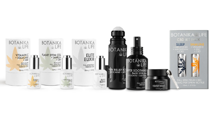 Botanika Life Launches CBD Wellness and Relief Line