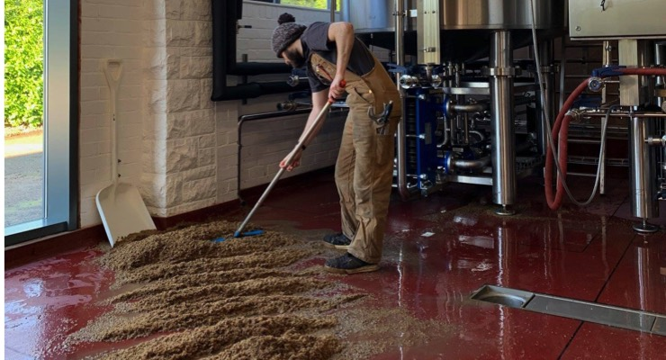 HMG Decorative Coatings Used in Brewery Expansion