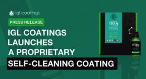 IGL Coatings Launches Proprietary Self-Cleaning Coating
