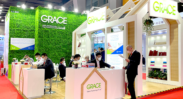 Grace Showcases its Latest Eco-Friendly and High-Performance Solutions at CHINACOAT 2020