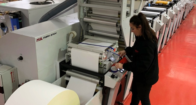 Weber installs Mark Andy Performance Series in Scotland