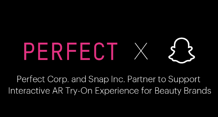 Perfect Corp. Partners with Snap Inc.