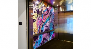 Asheville Art Museum Renovation Includes Roland-Printed Wraps for Elevators