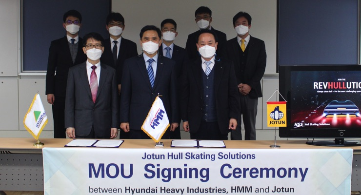 Jotun, HHI, HMM Join to Unlock Green Benefits with Proactive Hull Cleaning