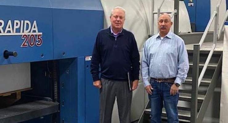 Rand Graphics Adds Koenig & Bauer Rapida 105 Six-Color