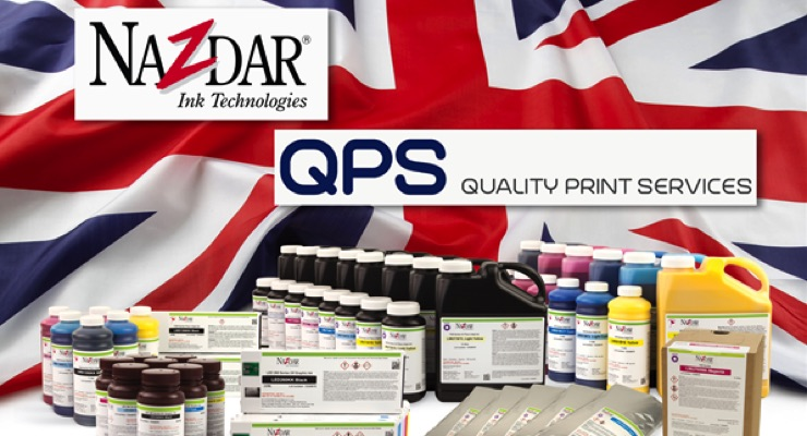 QPS, Nazdar Mark 20 Years of UK Distribution