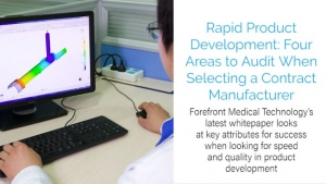 Rapid Product Development: Four Areas to Audit When Selecting a Contract Manufacturer