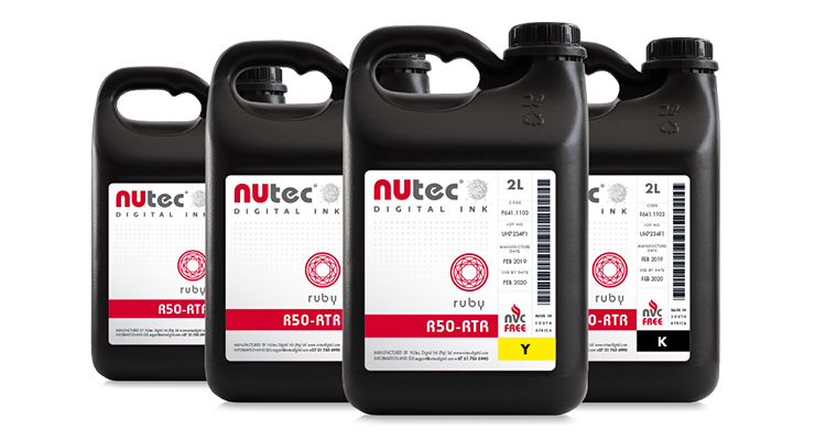 NUtec Launches Ruby UV-curable Ink Range Optimized for LED