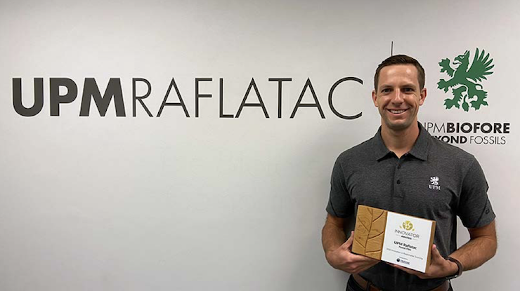 UPM Raflatac's revolutionary Forest Film label material wins Innovation in Sourcing Award