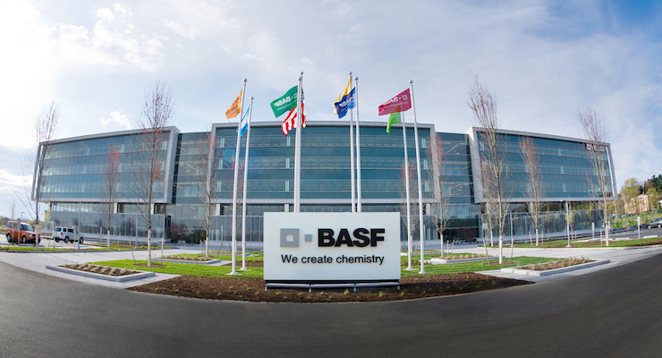 BASF Atop ICIS Top 100 Chemical Companies Listing