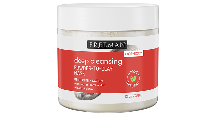 Freeman Beauty Adds Powder to Clay Mask