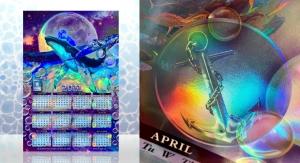 Hazen Paper Unveils 2021 Limited-Edition Holographic Calendar