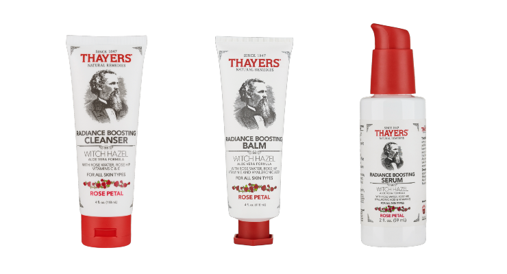 Thayers Reveals Radiance Boosting Collection