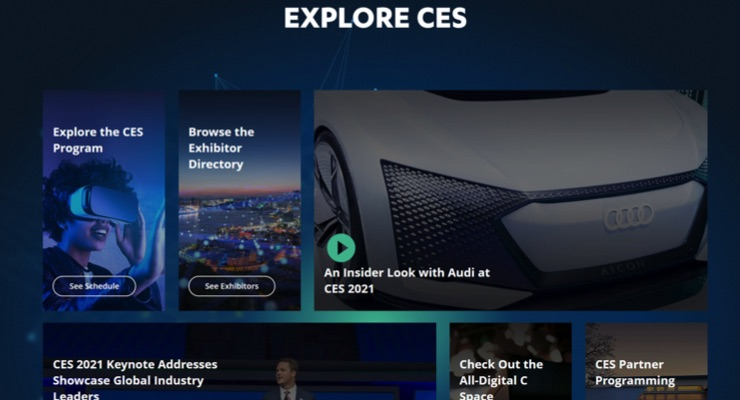 Virtual CES 2021 to Highlight Newest Technologies