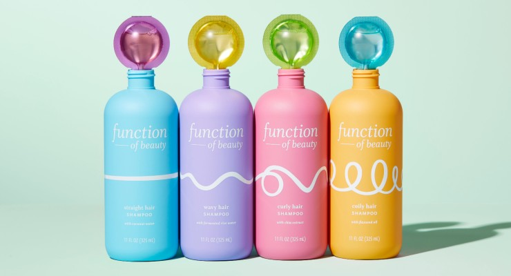 Function of Beauty Launches in Target Stores
