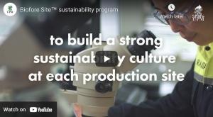 Biofore Site™ sustainability program