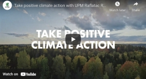 Take positive climate action with UPM Raflatac RAFNXT+