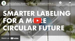 UPM Raflatac Wash-off - When packages come and go, label choice matters