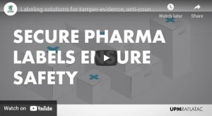 Labeling solutions for tamper-evidence, anti-counterfeiting and patient safety