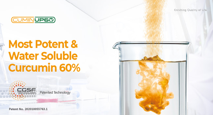 Most Potent and Water Soluble Curcumin 60