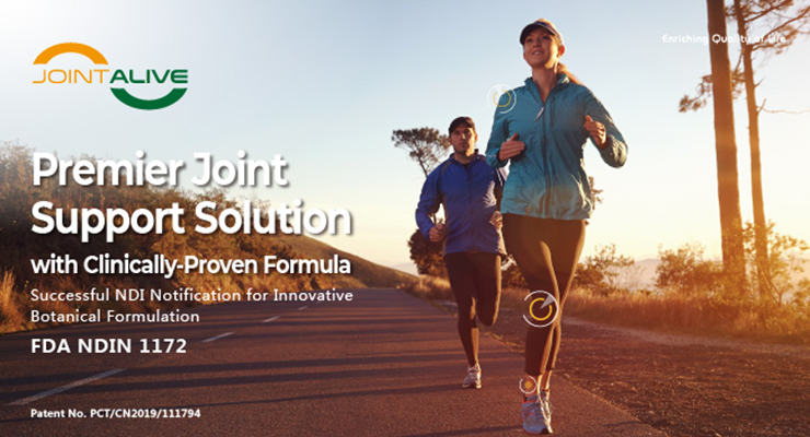 Premier Joint Support Solution with Clinically-Proven Formula