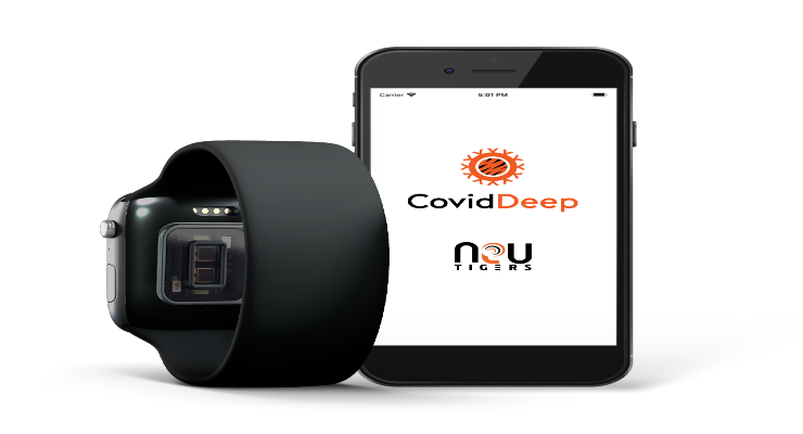Rapid Screening App Uses Wearable Sensor Data to Detect COVID-19 Infection