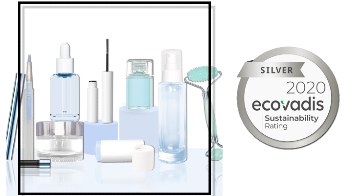 International Cosmetics Suppliers Earns EcoVadis Silver Medal