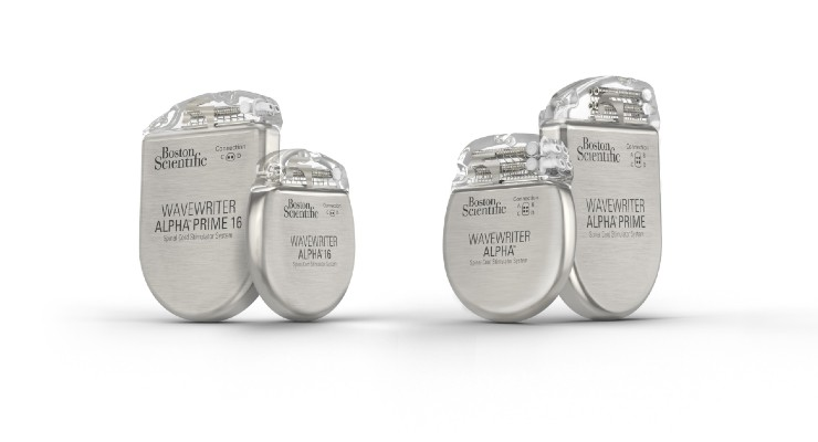 Boston Scientific Releases WaveWriter Alpha Spinal Cord Stimulators in U.S.