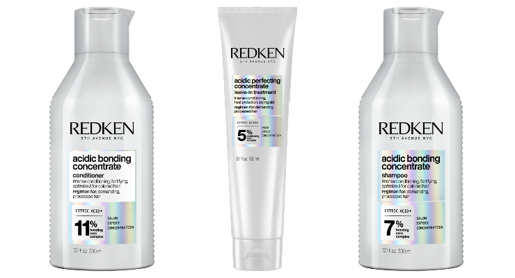 Redken Unveils Acidic Bonding Concentrate Range
