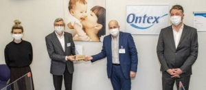 Ontex Honored for Mask Production