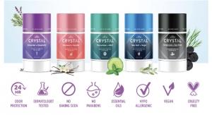 Crystal Deodorant Unveils Magnesium-Enriched Sticks