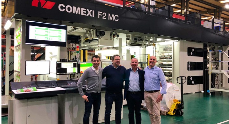 Morancé Soudure France Adds Comexi F2 MC 10-color Flexo Press