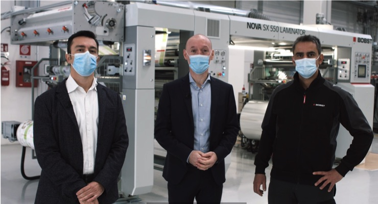 BOBST Demonstrates Future of Flexible Packaging Production at Virtual Open House