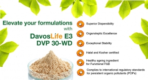 DavosLife E3 DVP 30-WD for Functional Foods and Beverages