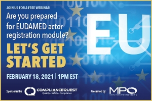 Are you prepared for EUDAMED actor registration module? Let's get started