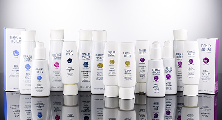 Corpack Creates Custom Packaging for Marlies Möller Hair Care Line