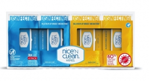 Nice-Pak Receives EPA Approval for Disinfectant Wipes